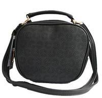 Женская сумка на плечо, через плечо Q-39 Черный, Белый, Красный