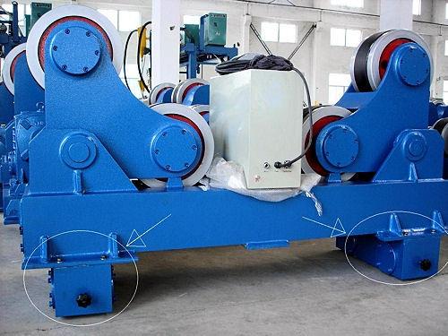 Самоцентрирующиеся сварочные вращатели серии HGZ-60 макс. грузоподъемность 60 тонн