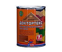 Лазурь-лак антисептический ІРКОМ ДОКТОРТЕКС ІР-013 для древесины, вишня, 0,8л
