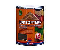 Лазурь-лак антисептический ІРКОМ ДОКТОРТЕКС ІР-013 для древесины, полисандр, 0,8л