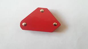 Магнитный угольник (сварочный позиционер) Трапеция №0 (75х15х65)мм