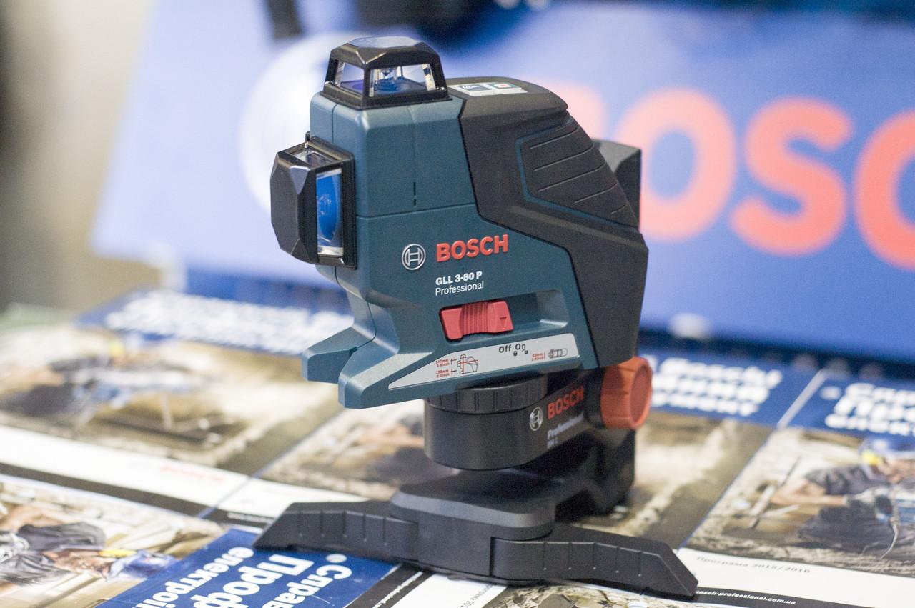 Лазерный нивелир Bosch GLL 3-80 P, 0601063305