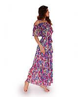 Платье летнее Фиолетовое ТМ Прованс