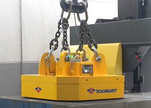 Магнитная шайба SML 100 N грузоподьемность 10000 кг