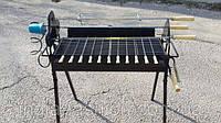 Мангал из нержавеющей стали с автоматическим (элетро) приводом