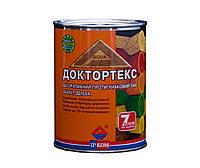 Лазурь-лак антисептический ІРКОМ ДОКТОРТЕКС ІР-013 для древесины, бесцветный, 0,8л