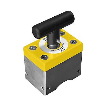 Магнитный фиксатор 108х72х147 мм Магн. усилие 454кг, отключаемый
