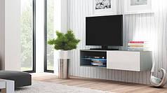 TV Тумба LIVO RTV 120w навесная(белая)  (Halmar)