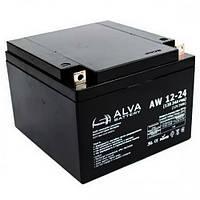 Аккумуляторная батарея Alva AW12-24 (24Ачас/12В)