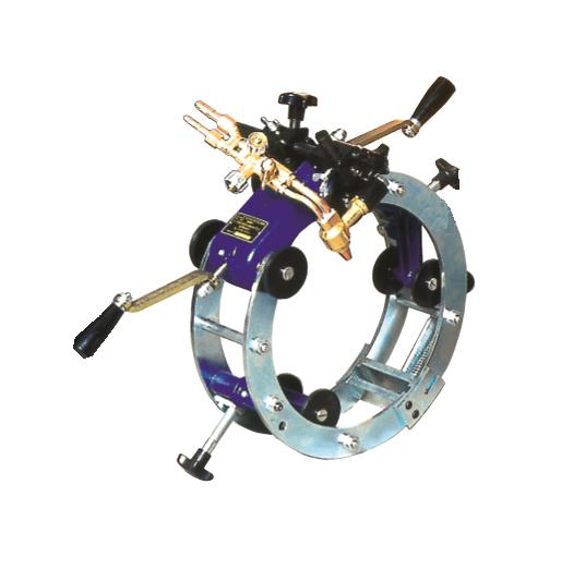 Газорезательная машина RSV-1 для різання труб 120-720 мм, Zinser