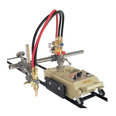 Газорезательная машина на рельсах HUAWEI CG1-30 для прямой резки металла толщиной 6-100 мм