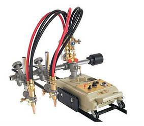 Двухрезковая машина для газовой прямой резки металла HUAWEI CG1-100 толщиной 6-100 мм на рельсах