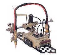 Газорезательная машина на рельсах HUAWE CG1-30F для прямой резки металла толщиной 6-100 мм