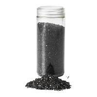 """ИКЕА """"KULÖRT"""" декоративный песок/камни, черный"""
