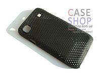 Пластиковый чехол в сеточку для Samsung I9001 Galaxy S Plus
