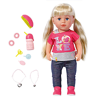 Кукла Baby Born - Старшая сестренка 43 см, с аксессуарами 820704, фото 1