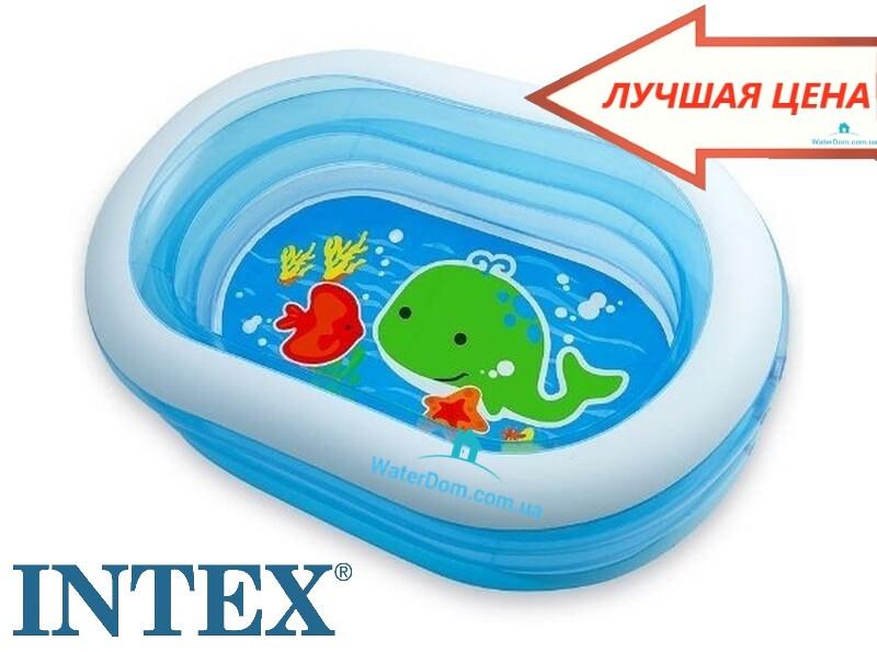 Детский бассейн «Китенок» Intex 57482 163x107x46см.