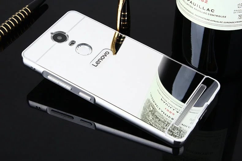Алюминиевый чехол бампер для Lenovo K5 Note