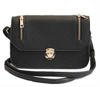 Женская сумка на плечо, через плечо Q-44 Черный, Серый, Красный