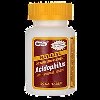 Acidophilus Ацидофильные бактерии с цитрусовым пектином  100 капс