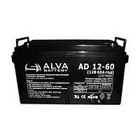Аккумуляторная батарея Alva AD12-60 (60Ачас/12В)