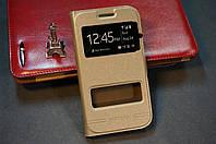 Чехол книжка  Samsung Galaxy Win i8550  i8552  Бесплатная доставка золотой (золото)