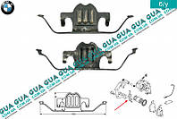 Планка суппорта ( фиксатор тормозных колодок передних / задних ) ATE 1 шт. 34216758059 BMW 5-series E60 2003-2010