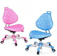 Кресло компьютерное детское Mealux Y-137 (розовое, голубое), фото 1
