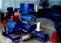 Воздуходувка роторная Robushi 10 м.куб/мин, 1,0 атм.