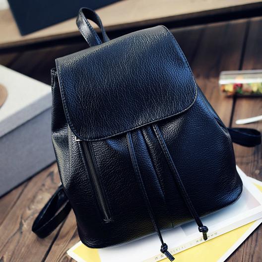 Женский рюкзак с молниями