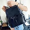 Женский рюкзак с молниями, фото 3