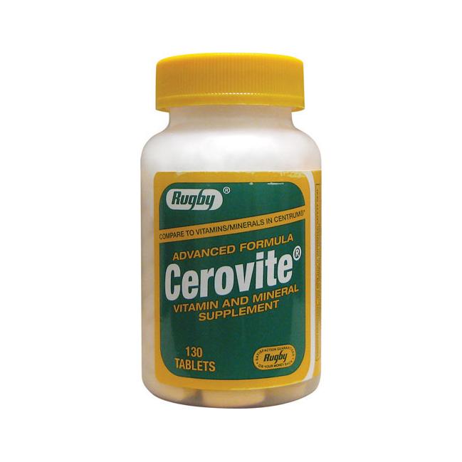 Витамины Cerovite Advanced Formula 130 таблеток - интернет-магазин besuto.com.ua в Луцке