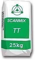 Scanmix TT - шпатлевка стартовая фасадная на цементной основе (усиленная волокном) 25 кг серый