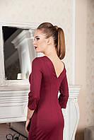 Женское платье Wolff 7161  S, бордовый