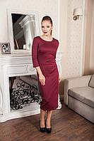 Женское платье Wolff 7161  M, бордовый
