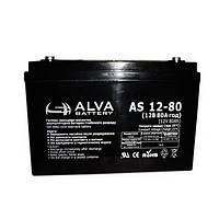 Аккумуляторная батарея Alva AS12-80 (80Ачас/12В)