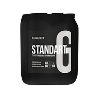 Укрепляющий грунт глубокого проникновения KOLORIT STANDART GRUNT, 10 л