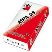 Baumit MPA 35 - стартовая штукатурная смесь цементно-известковая ,25 кг