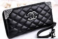 Женский кошелек стеганный Chanel