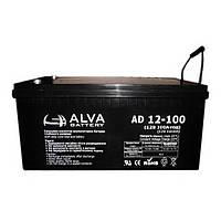 Аккумуляторная батарея Alva AD12-100 (100Ачас/12В)
