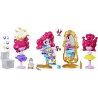 Игровой набор Салон Пинки Пай Минис Моя Маленькая Пони Май Литл Пони My Little Pony Equestria Girls Minis Pink