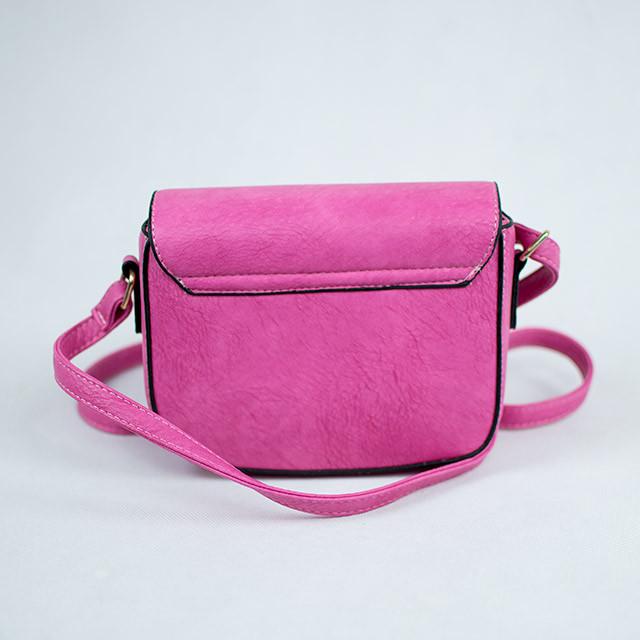 Розовый элегантный женский клатч через плечо