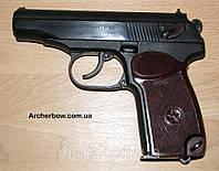"""Пистолет Макарова под патрон флобера """"ПМФ1"""" - с фигурной рамкой."""