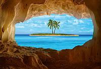 Фотообои для спальни Рай у моря  размер 366 х 254 см