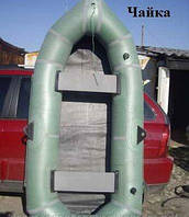 Лодка надувная резиновая Лисичанка, Чайка 2 местная