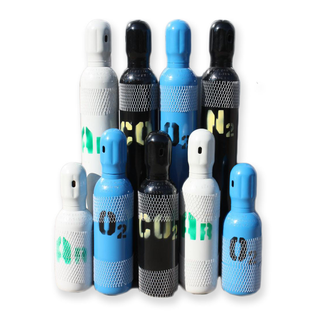 Баллон СО2, Ag, азот, кислород (новый) 5Л