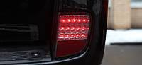 Диодные противотуманные фары Toyota Land Cruiser 200 красные