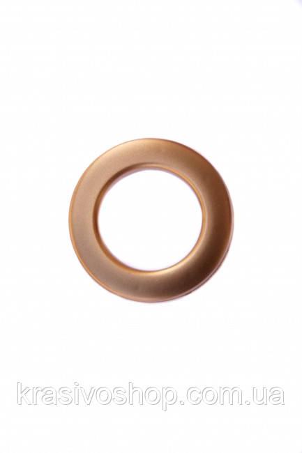 Люверс матова бронза, внутрішній діаметр 3,5 см , шт