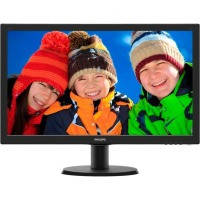 "Монiтор TFT PHILIPS 23.6"" 243V5QSBA/01 16:9 MVA DVI Black"