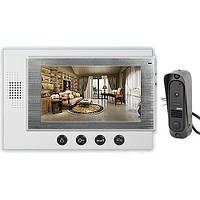 PoliceCam PC-701 (DVC-4Q) комплект видеодомофона